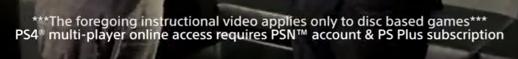 Wymagana subskrypcja PS+